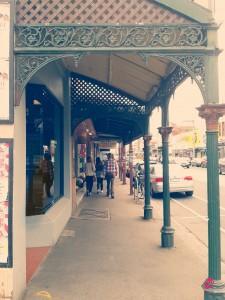 Scorcio dei portici di Sydney Road