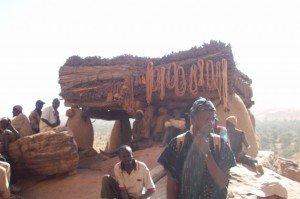 Vecchi Dogon sotto al Togounà