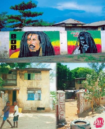 La casa di Bob Marley a Trench Town