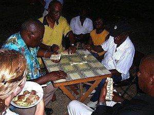 Domino in Jamaica