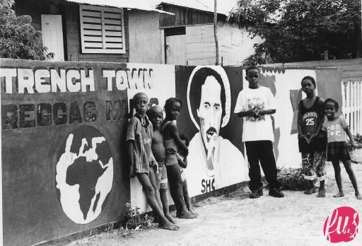 Children at Trench Town
