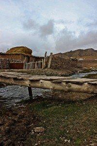 Uno scorcio naturalistico nel villaggio di Sary tash ( 3170 mslm), Kyrgyzstan