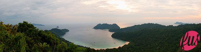 mar delle Andamane, Arcipelago delle Mergui, McLeod Island, veduta dall'alto (C)2011, Isabella Maffei, all right reserved