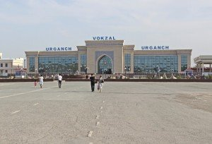 Stazione dei treni di Urgench, Uzbekistan