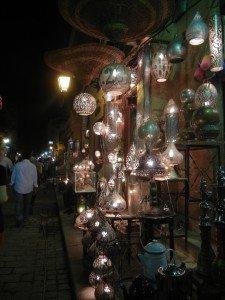 Le luci a Khan El Khalili