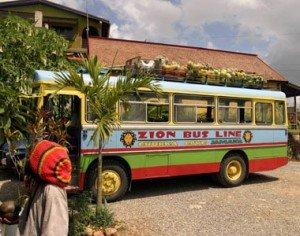 Il bus della Fondazione Marley in tour