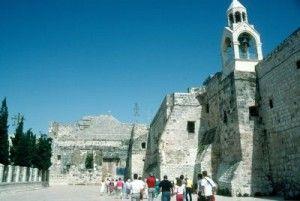 Le antiche mura di Betlemme