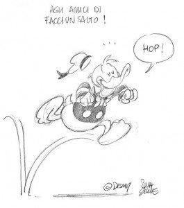 Il disegno che ci ha regalato Silvia Ziche