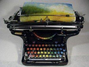 Tyree Callahan Chromatic Typewriter dbed0_o