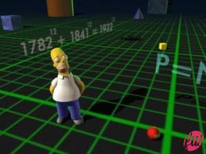 Homer e lo spazio-tempo
