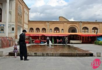 Il cortile del museo sulle tradizioni curde della zona a Sanandaj, Kurdistan iraniano