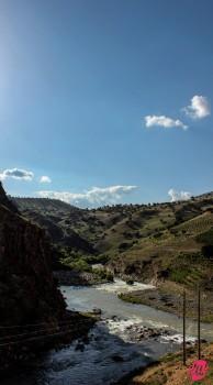 Paesaggi nei dintorni di Palangan, Kurdistan iraniano