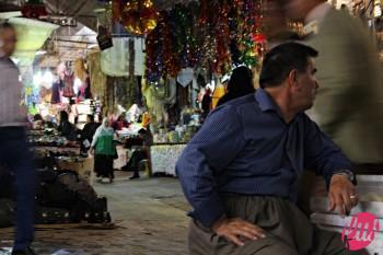 All'interno del bazar di Hewler, Kurdistan iracheno