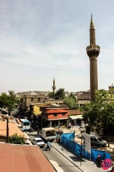 Una veduta sulla città di Gaziantep, Kurdistan turco