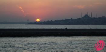 Verso Eminonu, sponda euopea di Istanbul, Turchia