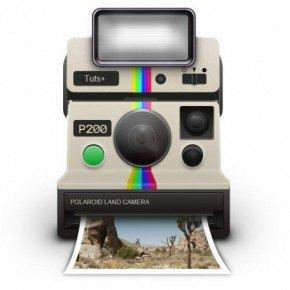 Draw-a-Vintage-Polaroid-Camera-Icon-520x559