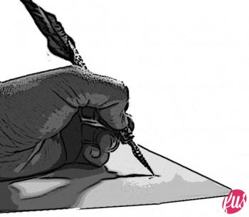 Guerra Poetica poeta penna e calamaio