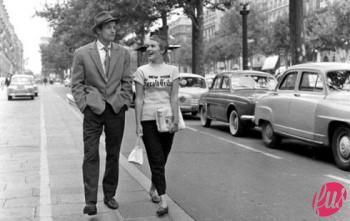 bout de souffle_Champs-lyses_Raymond Cauchetier_1959