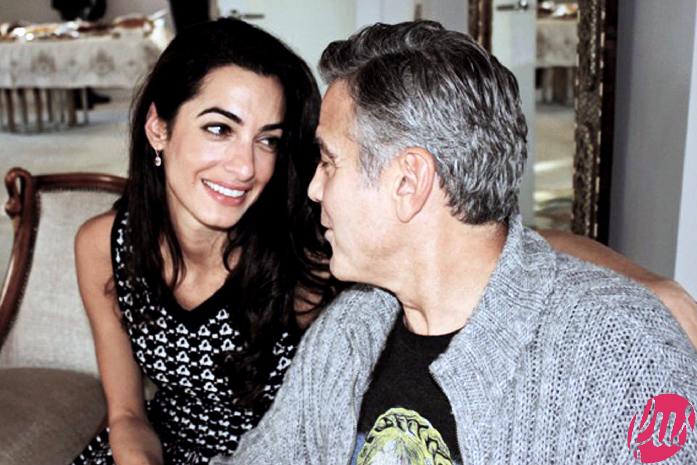 George Clooney in Tanzania