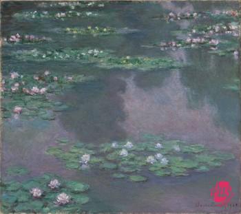Claude_Monet_-_Nymphéas_(1905)