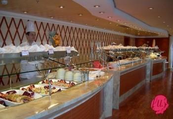 buffet costa crociere msc crociere