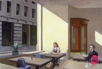 Edward-Hopper-Sunlight-in-a-Cafeteria