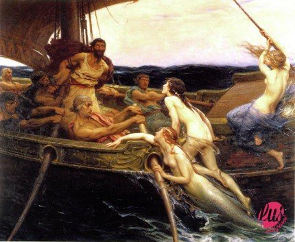 Ulysses_and_the_Sirens_(1909)