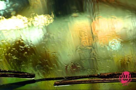 tergi sotto pioggia