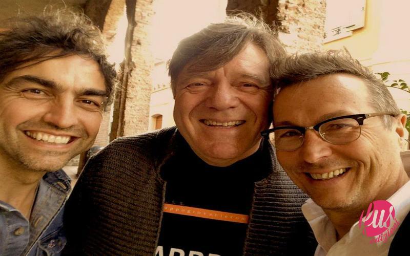 Marco con Paolo Belli e Beppe Carletti modificata