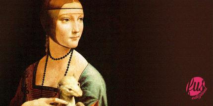 Dama con l'ermellino Leonardo Da Vinci