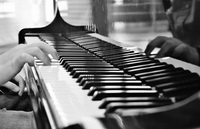 Pianoforte allo specchio mod