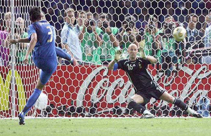 Fabio Grosso rigore 2006