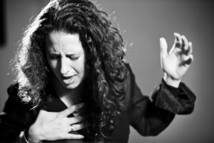 rosario parlando di flamenco