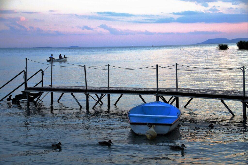 Barca al molo - Autore ivabalk