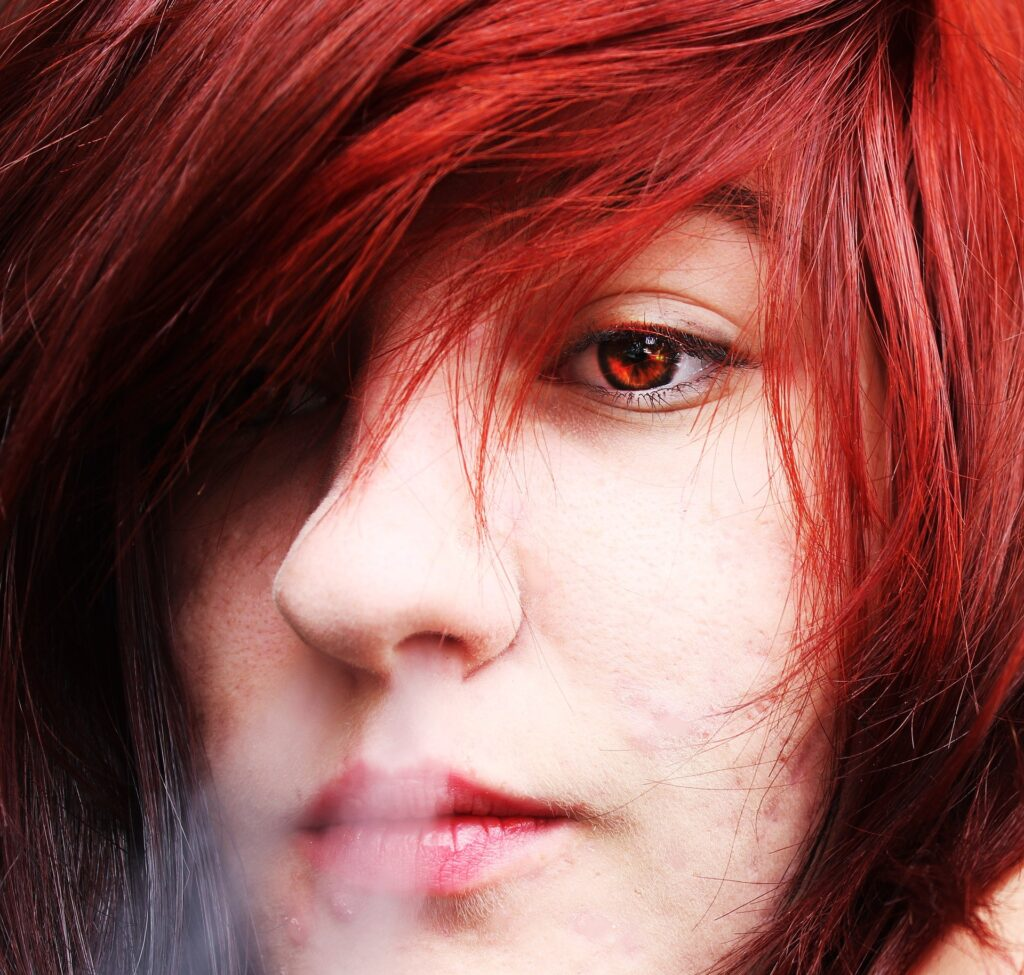 Ragazza dai capelli Rossi - Autore HannahJoe7