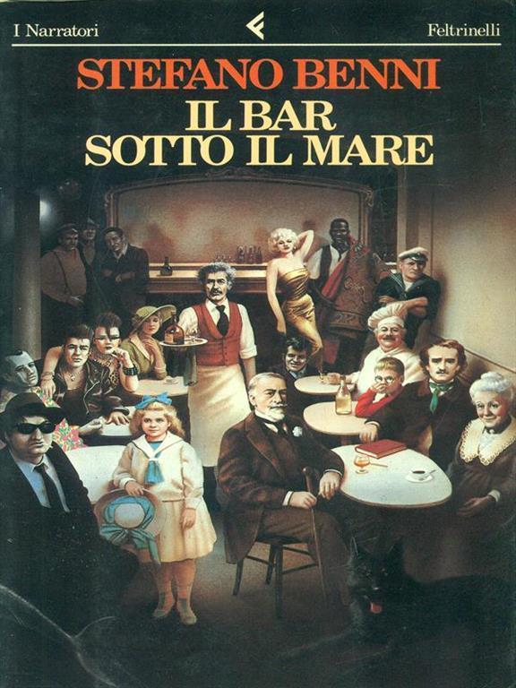 """Copertina del libro """"Il bar sotto il mare"""" di Stefano Benni"""